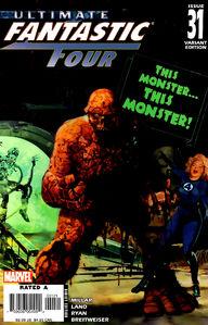 Ultimate Fantastic Four Vol 1 31 Variant