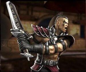 Reiko's sword