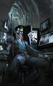 The Joker Vol 2 1 Exclusive Frankie's Comic Virgin Variant