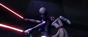 Ventress Kenobi dive
