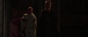 Anakin Skywalker Padmé darkened