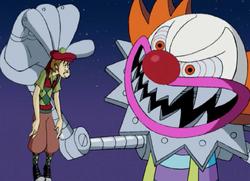 The Clown captures Shaggy
