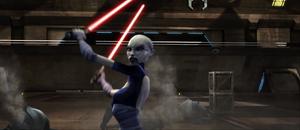 Asajj decapitates clone