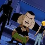 Batman Beyond goes after Mad Stan