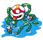 Naval Piranha Artwork - Super Mario World 2.png