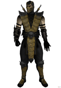 Scorpion alternate costume fixed by ogloc069-dabxybg