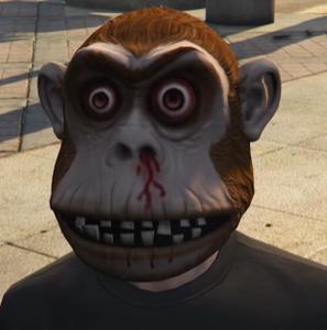 The Monkeys gta v mask