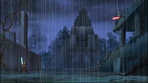 Ventress Skywalker rain