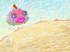ChalkZone 310 Skrawls Brain Big Loo Duck Snap Duck The Happiest Song in the World 31