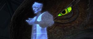 Chancellor Palpatine Zillo hologram