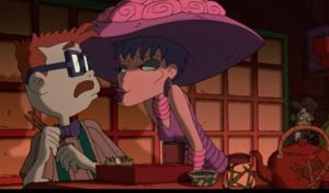 Coco seducing Chas