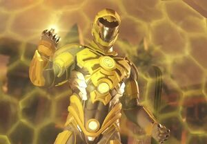 Instice Hal Jordan armored