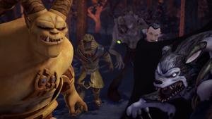TMNT Universal Monsters