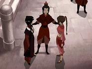 Azula forms her team