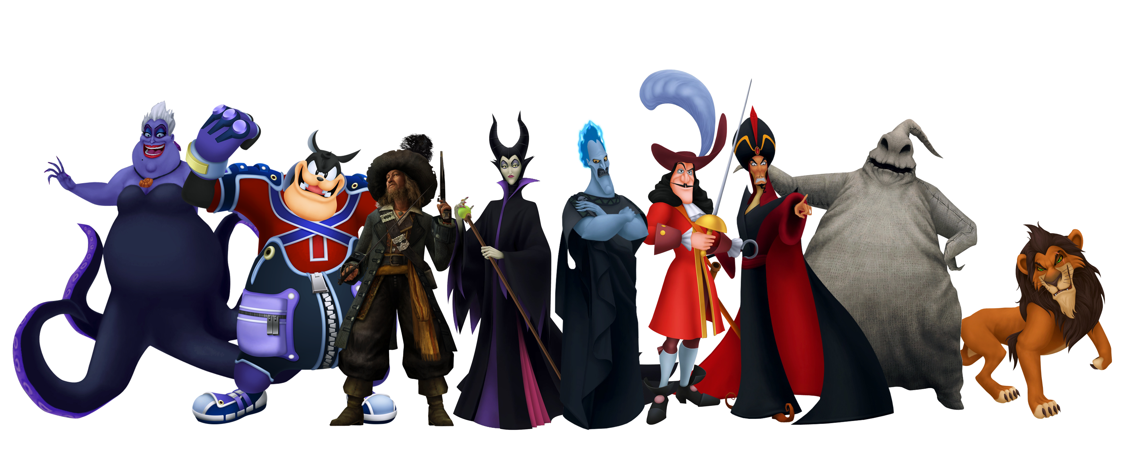 Council of Disney Villains