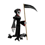 Grim's model in Cartoon Network Universe FusionFall.png