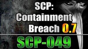 SCP-049 in SCP Containment Breach v0