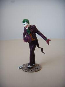 Schleich model of Joker