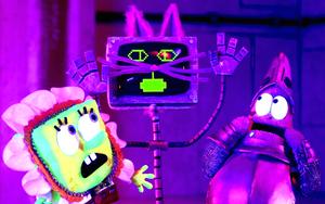SpongeBob SquarePants Karen the Computer Stop Motion