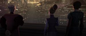 Chancellor Palpatine city destruction