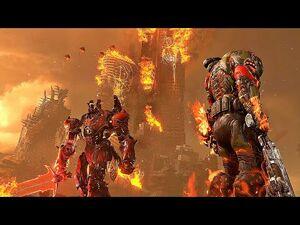 DOOM ETERNAL THE ANCIENT GODS PART 2 Ending & Final Boss Fight (4K 60FPS)