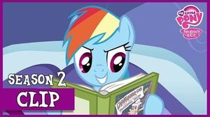 Rainbow Dash Likes To Read (Read it and Weep) MLP FiM HD