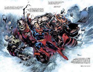 Rogol Zaar vs Superman vs Zod 2