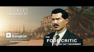 HITMAN - Elusive Target 17 The Food Critic