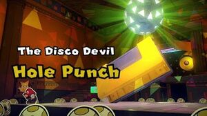 Paper Mario Origami King - Hole Puncher Boss Fight 8