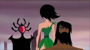 Samurai Jack - Ashi Vs Her own mother The High Priestess (Clip) XCVIII