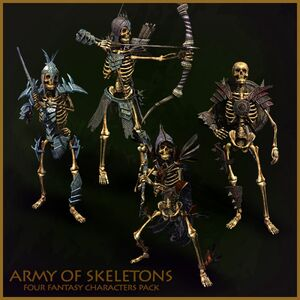 Army of skeletons Pack-800x800
