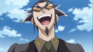 Dr. Ziggurat Laughing