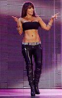 Evil Layla @ Raw 9.22.14