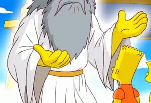 God the simpsons game