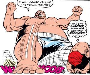 Johann Shmidt (Earth-616) and Wilson Fisk (Earth-616) from Captain America 378 0003