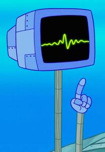 SpongeBob SquarePants Karen the Computer with Arms
