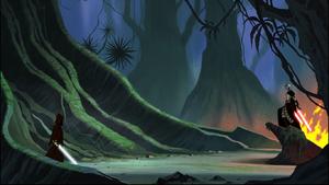 Asajj Anakin jungle
