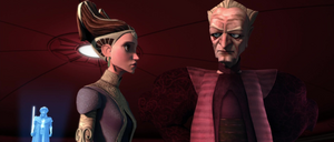 Chancellor Palpatine Amidala side