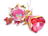 Strawberry Crepe Cookie