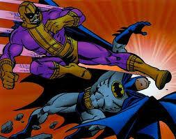 Batroc vs batman