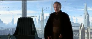 Chancellor Palpatine humble
