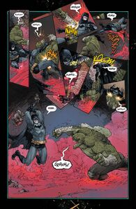 Killer Croc and Batman Prime Earth 0001