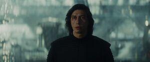 Kylo - second Force-bond scene