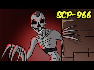 SCP-966 Sleep Killer (SCP Animation)