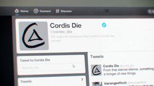 The Cordis Die's Twitter