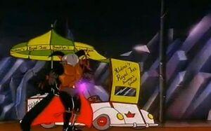 The Duke of Zill's Umbrella Golf Cart