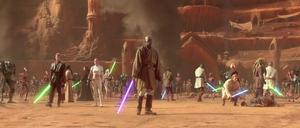 Anakin Jedi strike