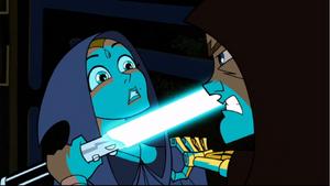 Anakin Skywalker Padmé lightsaber