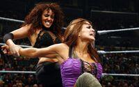 Evil Layla vs Eve Torres