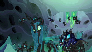 Queen Chrysalis 'very clever ' S6E26